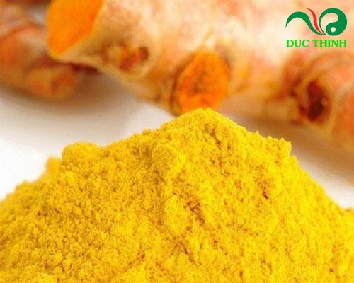 Hướng dẫn sử dụng tinh bột nghệ vàng chữa đau dạ dày
