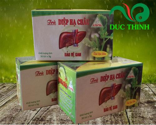 Trà diệp hạ châu điều trị viêm gan